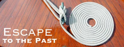 yacht rope coil