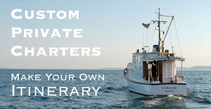Custom Skippered Charters in Seattle